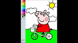 nickjr peppa pig coloring pages coloring book 2 free online