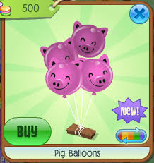 pig balloons pig balloons animal jam wiki fandom powered by wikia
