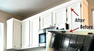 adding crown molding to adding crown molding to kitchen cabinets medium size of cabin
