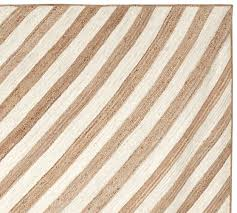 Tan And White Chevron Rug Chevron Stripe Jute Rug Pottery Barn