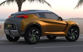 nissan juke brown nissan reveals extrem crossover concept ahead of brazilian debut