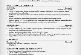 hair stylist resume hair stylist resume hair stylist resume