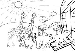 noahs ark coloring noah coloring pages preschool archives
