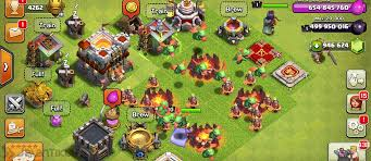 download game coc mod apk mwb fhx clash of clans coc indonesia update baby dragon dan miner