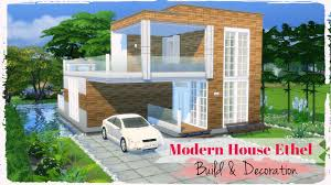 sims 4 modern house ethel build u0026 decoration part1 youtube