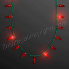 cheap christmas light up necklace bright design light up necklaces led red chili pepper at com cheap