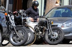 rolls royce motorcycle easy rider david beckham cruises around la on custom vintage