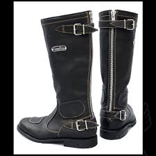 motorcycle riding boots vintage motorcycle boots by gasolina