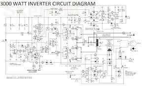 3000 watt inverter circuit diagram inverter converter