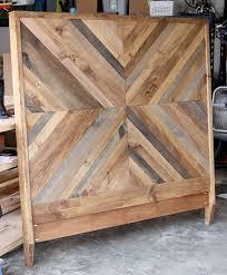 Building A Headboard Best 25 Chevron Headboard Ideas On Pinterest Reclaimed Wood