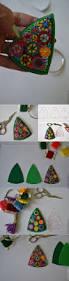634 best felt images on pinterest felt ornaments christmas