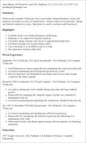 Etl Tester Resume Sample by Computers U0026 Technology Resume Templates To Impress Any Employer