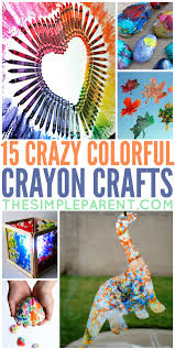 15 crayon crafts to make do more than color