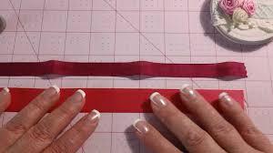 seam binding ribbon rolled ribbon or seam binding or fabric tutorial
