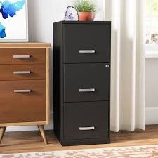 File Cabinet With Drawers Symple Stuff 3 Drawer Filing Cabinet U0026 Reviews Wayfair