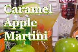 apple martini caramel apple martini recipe thefndc com youtube