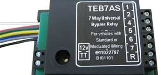 7 way universal bypass relay teb7as