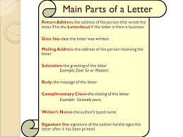 objective 4 04 apply correct letter formats ppt video online