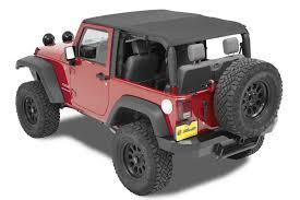 black jeep 2 door bestop cable style safari top for 10 16 jeep wrangler jk 2