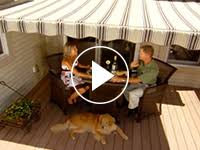 Motorized Awnings Reviews Sunsetter Awnings The Best Awning Value In America