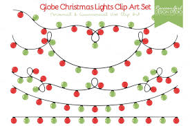 christmas tree light clips christmas lights clipart green red pencil and in color christmas