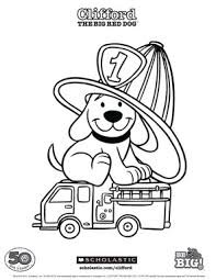 clifford coloring pages clifford scholastic