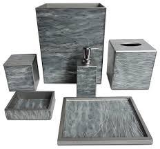 Grey Bathroom Fixtures Bathroom Accessories Set Grey Fixtures Bed Bath Beyond