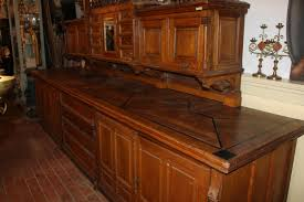 1 gothic style exceptional sacristy credens cabinet church
