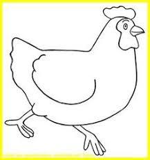 dessins de pâques modèles de lapins poules et poussins