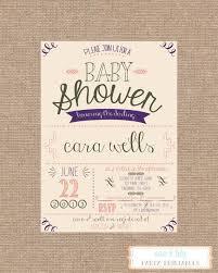 baby shower invitations impressive vintage baby shower