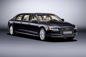 audi advertisement audi a8 l extended limo six doors for more mayors by car magazine