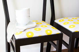 How To Make Dining Room Chairs by Diy Upholstered Dining Room Chairs Sarah Hearts