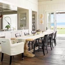 Beach House Dining Room Beach House Kitchen Table Of And Dining Room With Cottage Decor