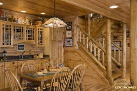 Log Home Floor Plans With Basement Golden Eagle Log And Timber Homes Log Home Cabin Pictures