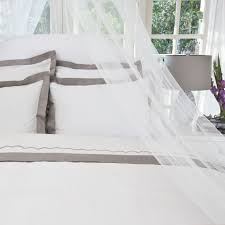 Crane And Canopy Duvet The Linden Grey Border Canopy Duvet And Bedding Decor
