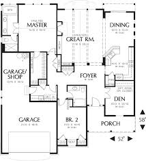 Craftsman Style Homes Floor Plans 289 Best House Plans Images On Pinterest Master Suite Dream