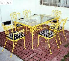 Retro Patio Furniture For Sale by Vintage Wrought Iron Patio Furniture Woodard Homecrest Vintage