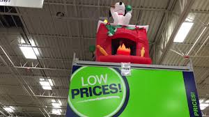 Snoopy Christmas Decorations Lowes by Lowe U0027s Christmas 2016 In Store Youtube