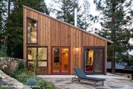 shed roof cabin u2013 modern house