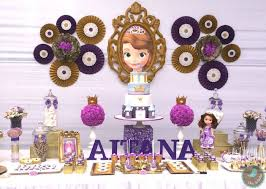 kara u0027s party ideas sofia the first themed birthday party