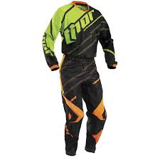 motocross gear phoenix thor 2016 phase vented doppler jersey black fluorescent available