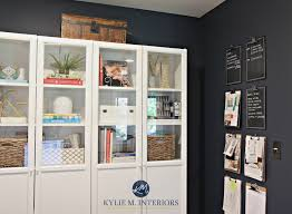 Home Decor Consultant Benjamin Moore Hale Navy Lrv And A Home Office With White