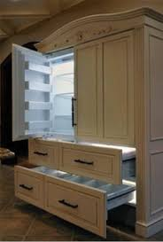 Fridge That Looks Like Cabinets Kitchen Remodel Pinterest