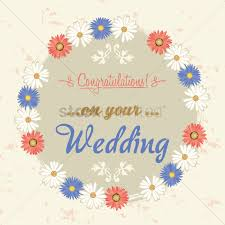 congratulations on your wedding congratulations on your wedding label vector image 1827382