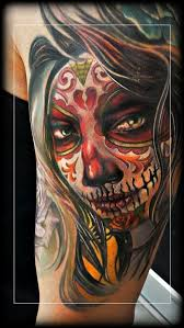 206 best day of the dead tattoos images on pinterest tattoo