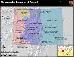 Colorado National Monument Map by Photo Gallery U S National Park Service