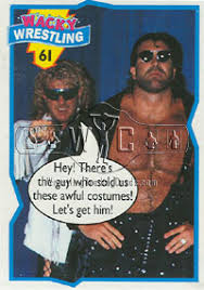 diamond studd wrestlingtradingcards 1993 wacky