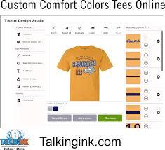 Comfort Colors Shirts Custom Comfort Colors T Shirts Online Talkingink