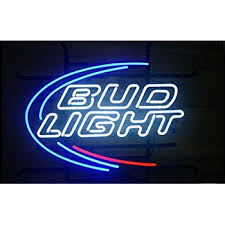 bud light bar light amazon com bud light led sign 16 oval shaped sign led light