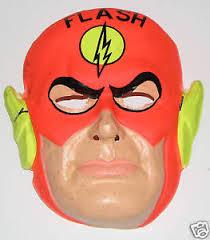 1960s Halloween Costume Flash Halloween Costume U0026 Mask Rare 1960 U0027s Ben Cooper Ebay